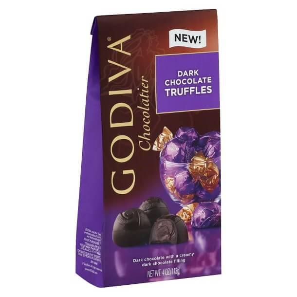 Godiva Dark Chocolate Truffles (10 pcs/bg)