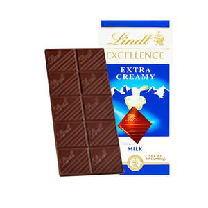 Lindt Excellence Extra Creamy Bar 3.5 oz