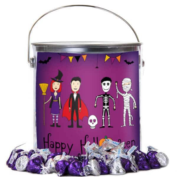 Halloween Bucket of Kisses