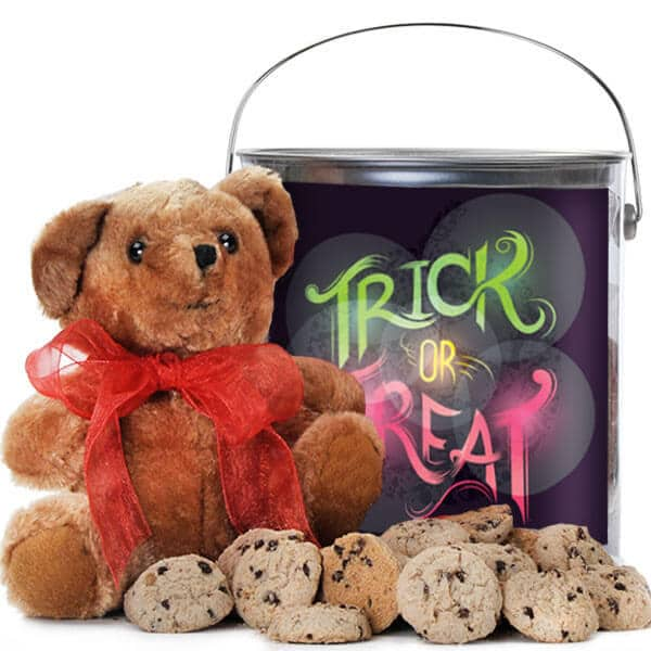 Trick Or Treat Cookie Pail