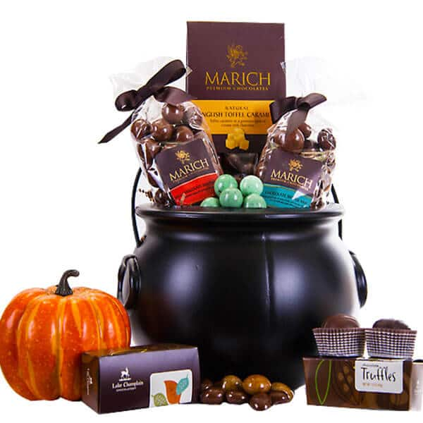 Halloween Cauldron of Chocolate