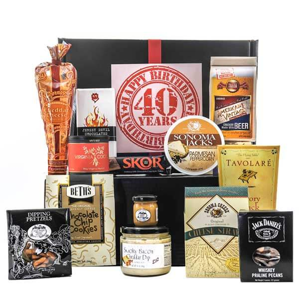 Happy Birthday Gourmet Snack Box - GiftBasket.com - Gift Set