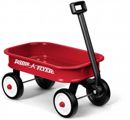 Little Red Radio Flyer Wagon (For Children Fill It Up) - GiftBasket.com