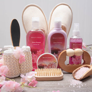 Merry Cherry Blossom Luxury Spa Gift Set