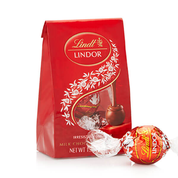 Lindt Lindor Truffles Milk Chocolate (3 pcs/bag)