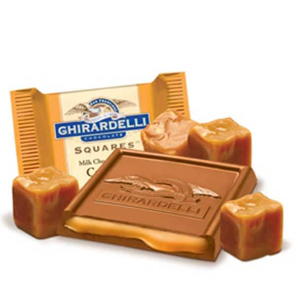 Ghirardelli Milk and Caramel Squares (10pcs)