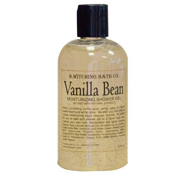 B.Witching Bath Co. Vanilla Bean Moisturizing Shower Gel