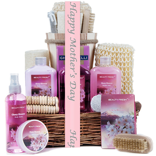 Mother's Day Cherry Blossom Spa Basket