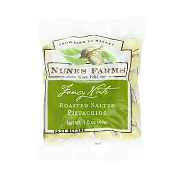 Nunes Farms Roasted Salted Pistachios