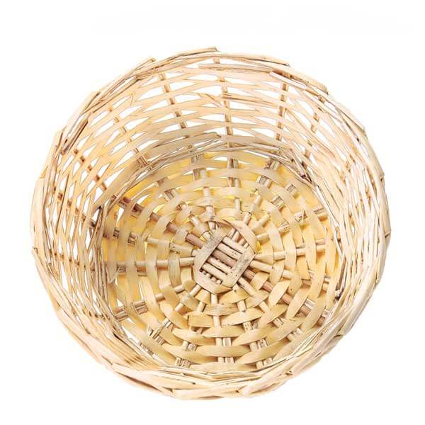 Round Willow Bowl 9 Inch