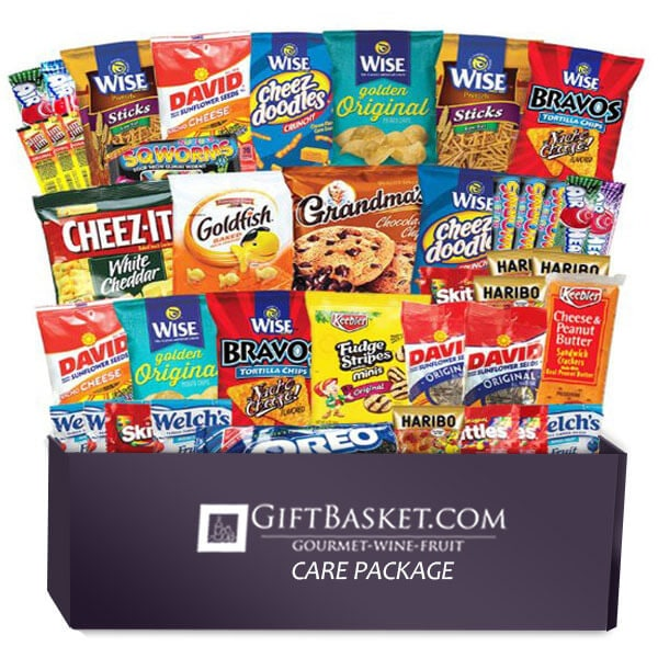 Back to School Care Package Bundle 50 Count - GiftBasket.com - Care Package