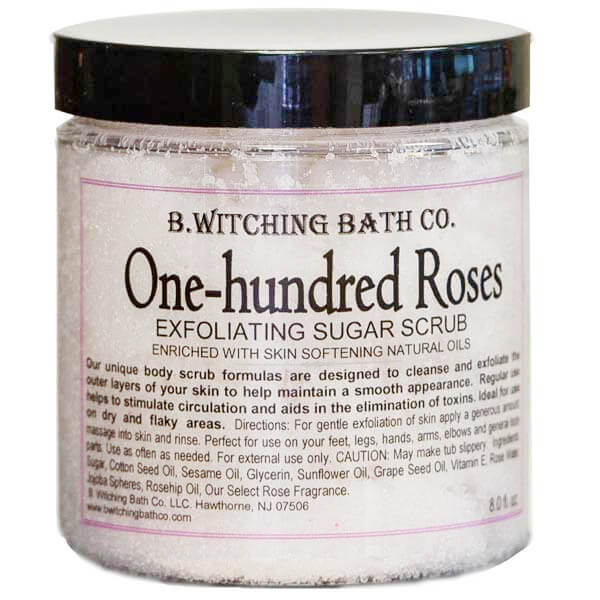 B.Witching Bath Co. One Hundred Roses Scrub - GiftBasket.com