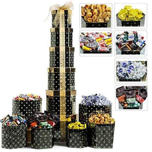 3 Ft. Sweet Treat Tower - GiftBasket.com - Gift Tower