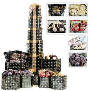 3 Ft. Cookie Tower - GiftBasket.com - Gift Tower