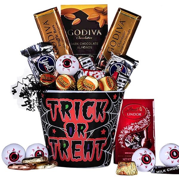 Trick or Treat Godiva & More Bucket