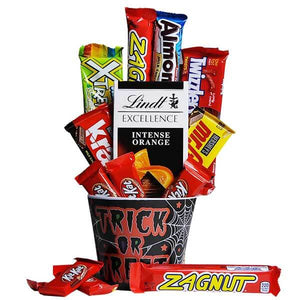 Bucket of Trick or Treat Goodies