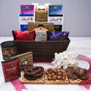 Greatest Pleasures Chocolate Gift Basket