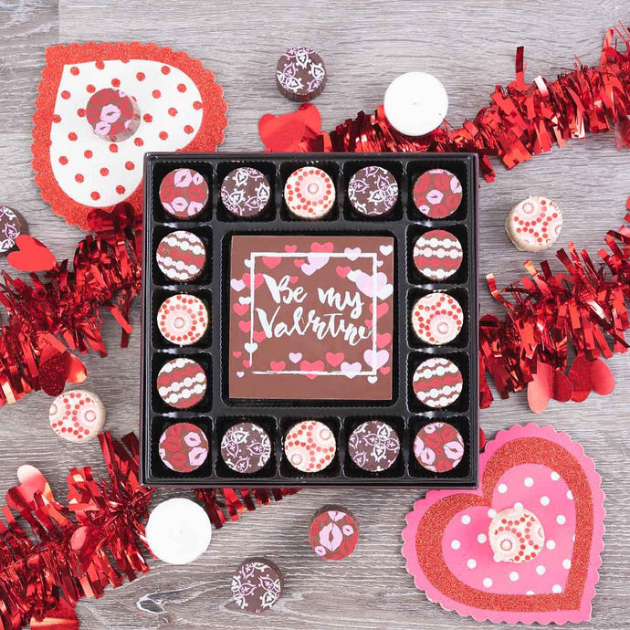 Be My Valentine Gourmet Chocolate Truffles Gift Box