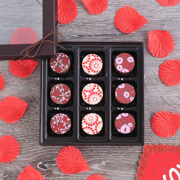 Love is Kind Gourmet Truffles Gift Box - GiftBasket.com - Gift Box