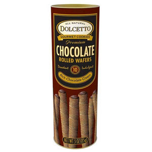 Dolcetto Wafer Rolls – Chocolate Tin