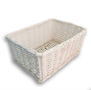 White Wicker Basket