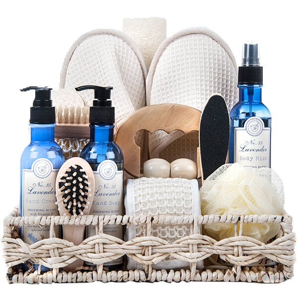 Refreshing Ocean Breeze Spa Basket