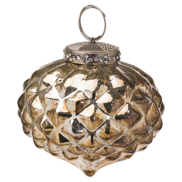 Burnished Textured Small Bauble | The Noel Collection