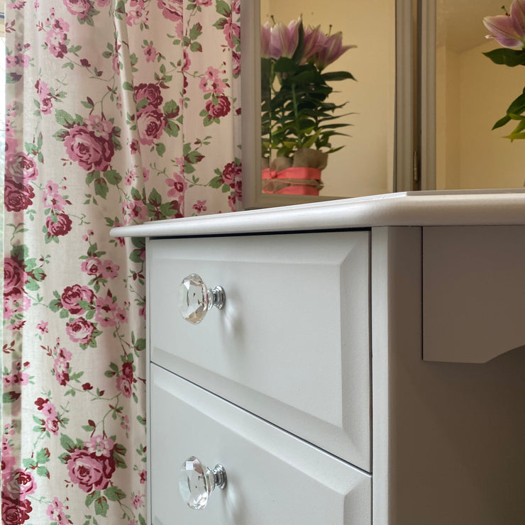 STAG CORNER DRESSING TABLE & STOOL