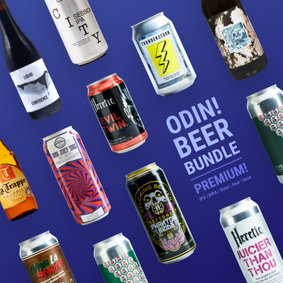 Odin's Premium Beer Gift Box - Free Shipping - Valhalla Distributing