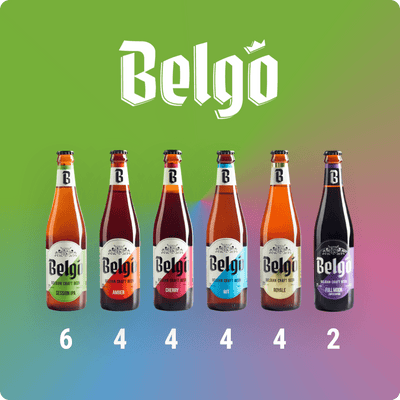 Sizzlin' Session 24 Belgo Mix & Match - Valhalla Distributing