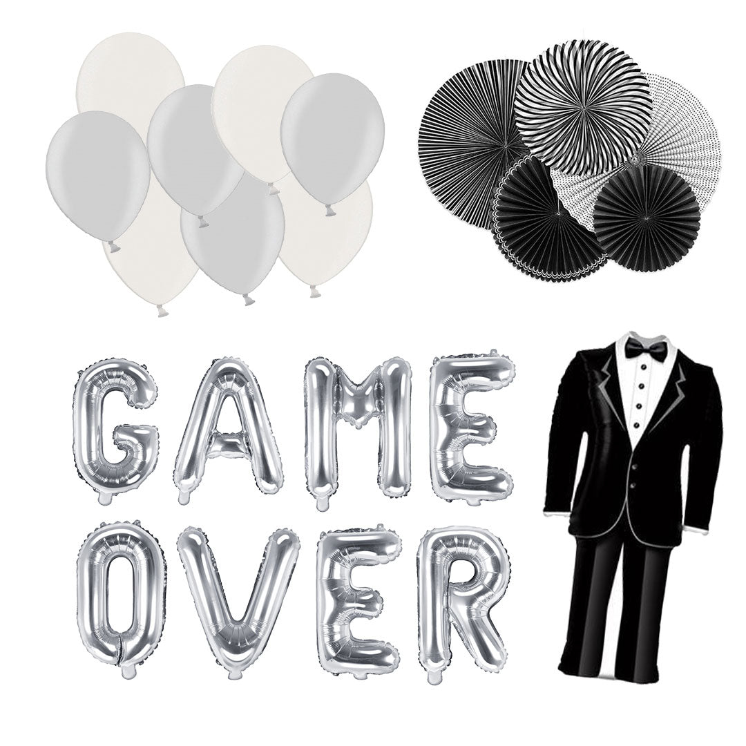 JGA Deko Set Game Over (27-teilig)
