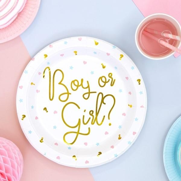 Gender Reveal Teller  - Ja-Hochzeitsshop
