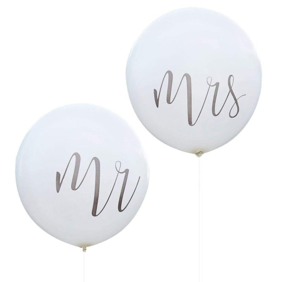 "XXL Latexballons ""Mr & Mrs"" - Ja-Hochzeitsshop"