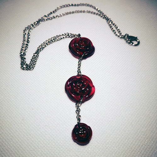 Rose Pendant with chain