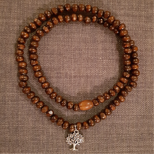 Multi Wrap Tree of Life Wooden Beads