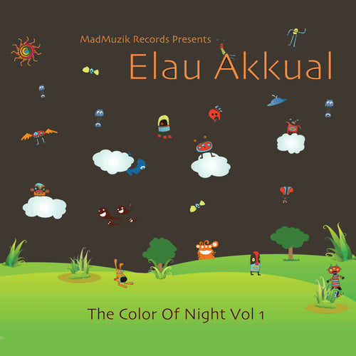V.A - Elau Akkual The Color Of Night - 2012 - CD / Digital download