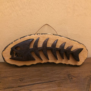 Wooden Art - 'Fishbones' Wall Decor