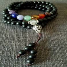 Multi Wrap- Natural Gemstone Chakra