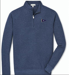 Peter Millar Men's Crown Comfort Interlock 1/4 Zip