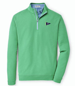 Peter Millar Men's Perth Melange 1/4 Zip