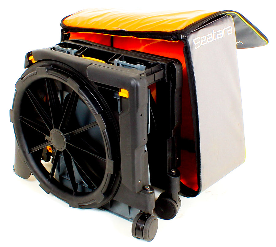 Wheelable Folding Travel Chair