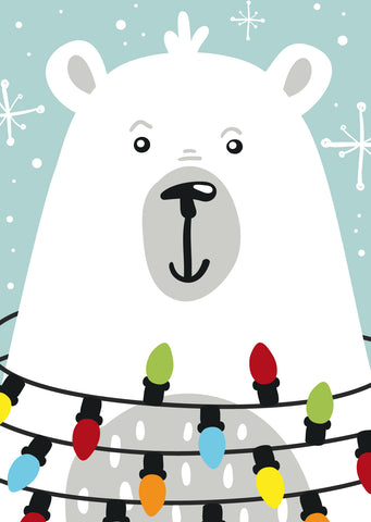 'Polar Bear' Christmas cards, pack of 10