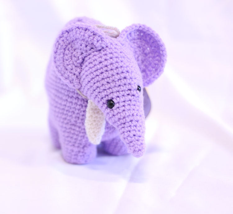 Knitted Elephant - Dinah