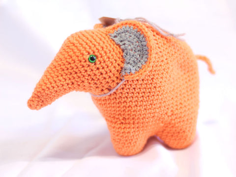 Knitted Elephant - Sierra
