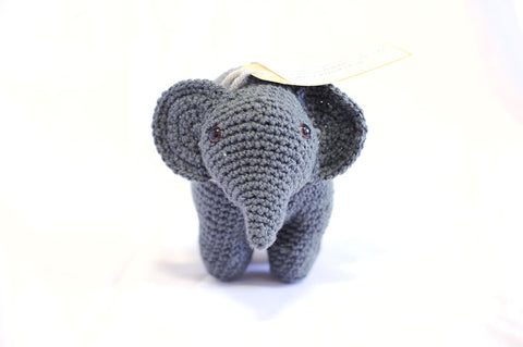 Knitted Elephant - Dante