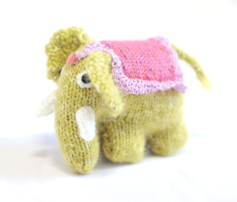 Knitted Elephant - Khadijha