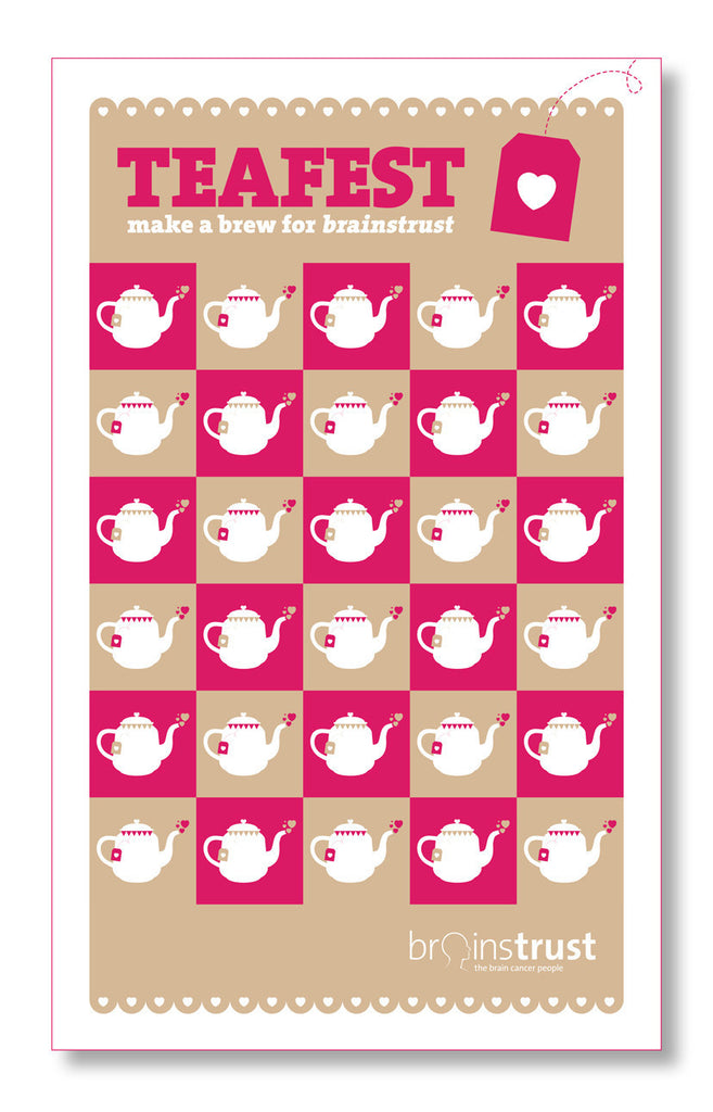 TEAFEST tea towel