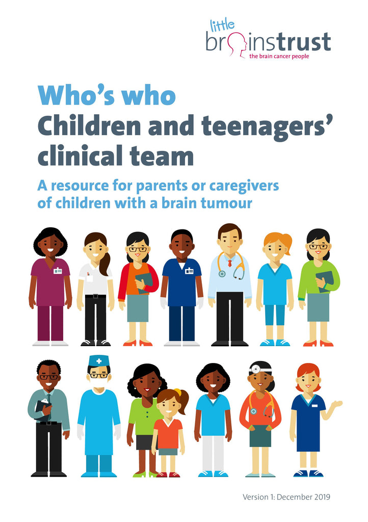 Who's Who in Your Clinical Team - Children and families