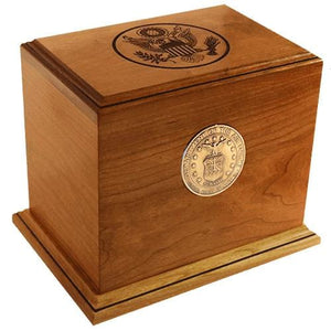 Patriot Funeral Urn – Military - Army, Navy, Marine, Air Force, Coast Guard