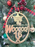 Limited Edition Ric Flair's 16X Gold Tree Ornament